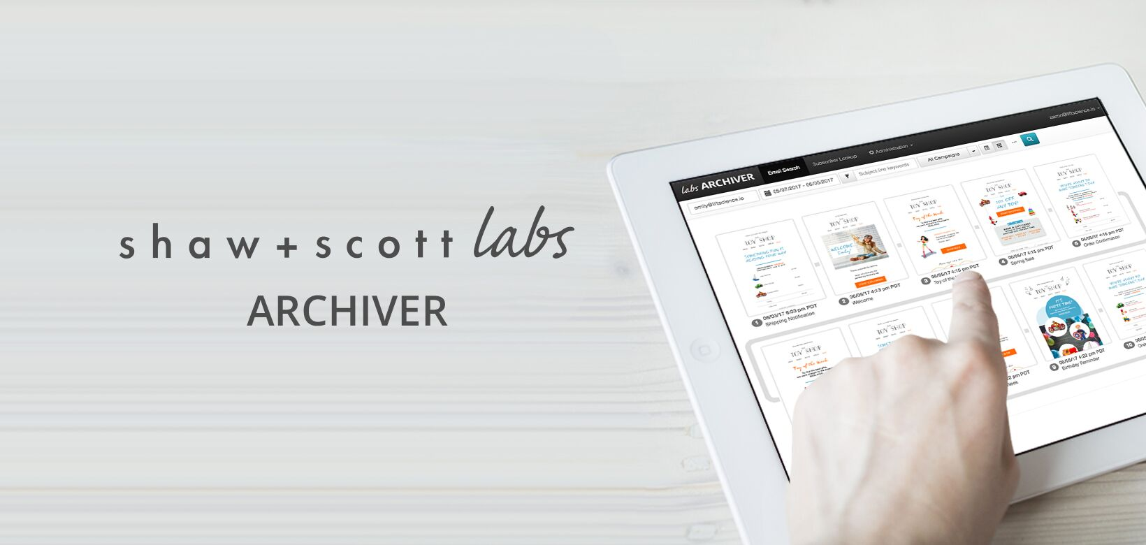 archiver-listing