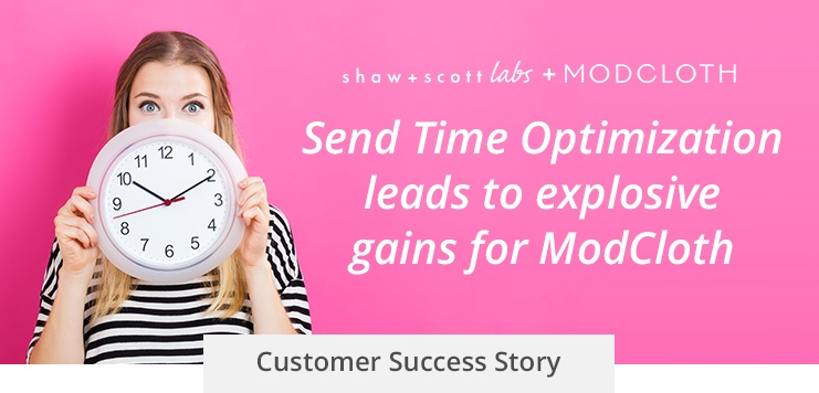 How Send Time Optimization Boosted ModCloth's Newsletter Performance by 21%