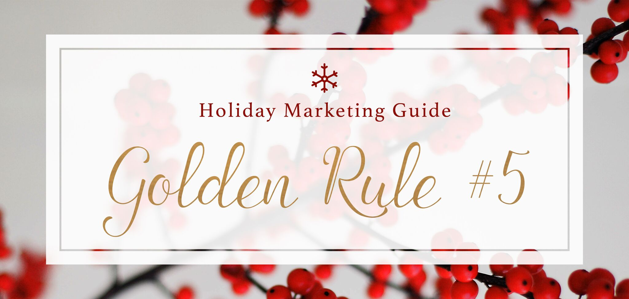 golden-rule-5-post